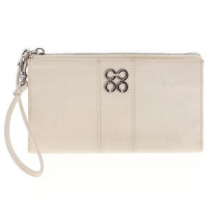 NEW AUTHENTIC Coach Ivory Clutch/Wristlet